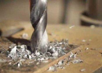 Высверливание материала для дальнейшей работы другим сверлом