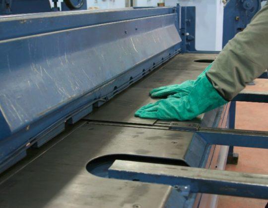 Толщина металла может достигать 10 мм