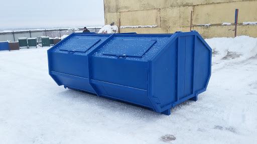 Металлические контейнеры для ТБО